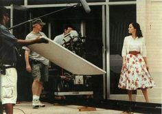 Reese on the set for Walk the Line - Walk The Line Photo - Fanpop Line Images, Walk The Line, Line Photo, Reese Witherspoon, On Set, Midi Skirt, Walking, Scene, Fan Art