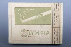 Forssan museo. F. Sergejeff tukkukaupan valmistama Olympia-merkkinen savukerasia. Feodor Ivanovit¨ Sergejeff oli venäläistaustainen suomalainen liikemies, joka perusti tukkukaupan Viipuriin vuonna 1873.