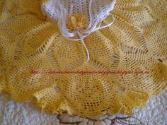CROCHET DE ANTONIA: VESTIDOS NIÑA DE CROCHET DE 6 A 12 y 24 MESES Baby Dress, Crochet Baby, Crochet Dresses, Kids, Mendoza, Crochet Toddler Dress, Baby Boy Sweater, Weaving Kids, Dresses For Girls
