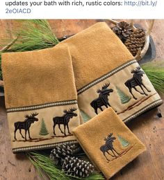 Shop for rustic hardware and wildlife bathroom accessories at Black Forest Decor, your ultimate source for rustic bath decor and lodge furnishings. Lodge Bathroom, Rv Bathroom, Bathroom Ideas, Bathroom Hardware, Rustic Bathroom Accessories, Moose Decor, Black Forest Decor, Rustic Hardware, Wildlife Decor