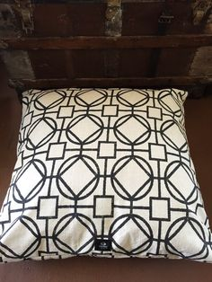 Geometric Industrial Dog Bed