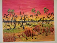 Painting By Cheyne Bolton from Perth Noongar Tribe