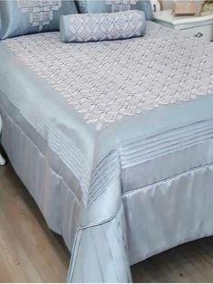 Dantel Yatak Örtüsü Örnekleri Yapılışı Bad Cover, Bed Spreads, Bed Sheets, Decoration, Mattress, Diy And Crafts, Crochet Patterns, House Design, Blanket