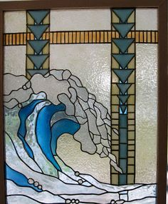 Good Sam Showcase of Miniatures (stained glass window panel) would be perect for a mini bathroom!!