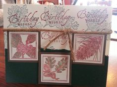 Hand made Birthday card by Shelly Skinner