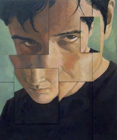 Fractured:  Self-Portrait by jjroberson