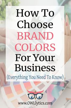 Colors create emotions and can create POWERFUL branding when chosen with care! Use this step by step process to decide WHICH colors to use for your business' logo and branding palette. With smart color guides & tools, get the results of powerful branding without all the stress! Branding Your Business, Branding Kit, Business Logo, Business Tips, Branding Design, Blog Topics, Brand Board, Logo Color, Sales And Marketing