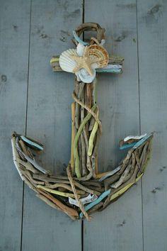 Sea shell anchor