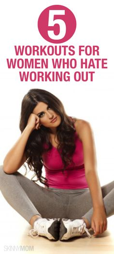 If you're not a huge fan of fitness, try some of these workouts!
