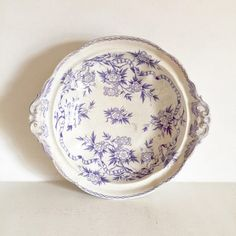 Your place to buy and sell all things handmade Old Plates, Antique Plates, Antique Silver, Decorative Plates, Lady Grey Tea, Blue And White China, Fenton Glass, Vintage Dishes, My Boutique