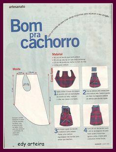 molde da Revista MANEQUIM by ♥Edy Arteira®♥, via Flickr