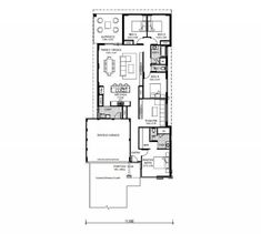Promotional homes designs the getaway open plan and spaces floorplan malvernweather Gallery