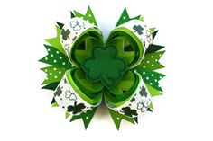 Hey, I found this really awesome Etsy listing at https://www.etsy.com/listing/118034390/st-patricks-day-hair-bow-shamrock-hair