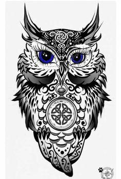 owl tattoo for women * owl tattoo ` owl tattoo design ` owl tattoo for women ` owl tattoo drawings ` owl tattoo men ` owl tattoo small ` owl tattoo for women small ` owl tattoo sleeve Baby Owl Tattoos, Tattoos 3d, Owl Tattoo Drawings, Body Art Tattoos, Sleeve Tattoos, Tattoos For Guys, Tattoos For Women, Tattoo Owl, Tribal Owl Tattoos