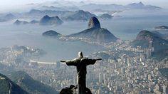 Estátua do Cristo Redentor, no Rio de Janeiro