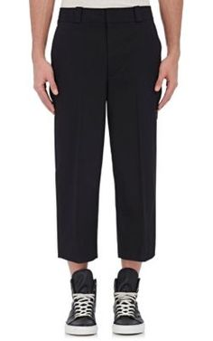ALEXANDER WANG Crop Trousers. #alexanderwang #cloth #trousers