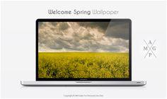 Welcome Spring Wallpaper by MrFolder.deviantart.com on @deviantART