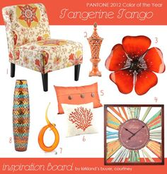 Tangerine Tango from Kirklands.com #rhapsodyofcolor #kirklands