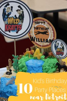 10 Birthday Party Places for Kids Near Detroit – Kiddo Korner – Party Ideas Birthday Party Places, Birthday Party Tables, 10th Birthday Parties, Frozen Birthday Party, Birthday Ideas, Happy Birthday Art, Pig Birthday, Party Places For Kids, Birthday Girl Pictures