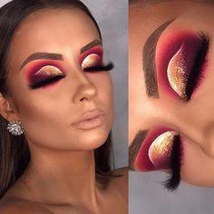 how to makeup tips Makeup Eye Looks, Beautiful Eye Makeup, Eye Makeup Art, Pretty Makeup, Eyeshadow Makeup, Baddie Makeup, Sexy Makeup, Glam Makeup, Creative Eye Makeup