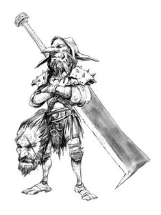Jewel in the Skull Fantasy Races, Fantasy Warrior, Fantasy Art, Demon Drawings, Fantasy Drawings, Character Portraits, Character Art, Character Design, Barbarian Dnd