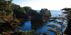 Cape Flattery: A view into the bay from one of Cape Flattery's observation decks.- 16 Best Hikes on the Washington Coast