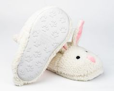 They look a little too fluffy but it's hard to tell. Potentially, super cute bunny slippers.