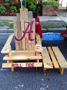Alabama Rocking Chair Accent And Table Set 94 Best Giant Baby S Adirondack Chairs Images Wood Ideas Pallet Deck Patio Decoration Terrace Garden