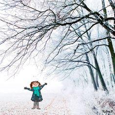 CDH: Comme dans du coton Winter Illustration, Illustration Girl, Character Illustration, Illustration Mignonne, Snoopy Images, Photo Images, Winter's Tale, Art Bag, Women Life