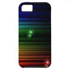 "Covering ""multicolored sparkling"" abstractly iPhone 5 cover"