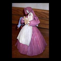 Laundress Corn Husk Doll by clearcreekmercantile on Etsy