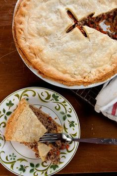 Tourtière (Québécois Meat Pie) Recipe | Saveur