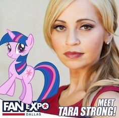 Equestria Daily: Fan Expo Dallas Announces Tara Strong