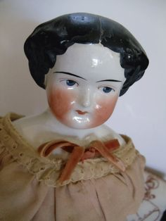 1870s China Head Doll  19 inches tall  by UrbanRenewalDesigns, $150.00