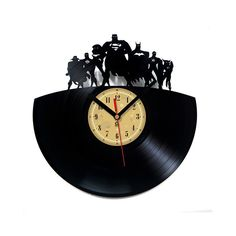 Vinyl Clock - Justice League