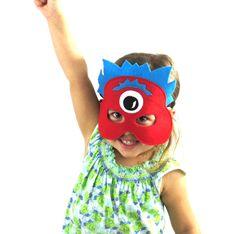 Red Monster Mask — Moonlight Makers