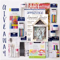 This month's issue of Art Journaling features our Design Team Member Carolyn Dube and her amazing Permission to Play Journal. We are thrilled to be partnering with Stampington & Company to offer a giveaway to our fans. Be sure to enter for your chance to win one of five mixed-media...