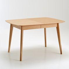 Table évolutive, 4 à 10 couverts, Biface