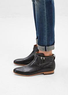 Totokaelo - Dieppa Restrepo Black Mer Ankle Boot