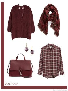 Are You Interested in a New Accent Color? Pantone Autumn 2018 and some French Wardrobes - The Vivienne Files Stylish Outfits For Women Over 50, Clothes For Women, Red Pear, The Vivienne, Fall Capsule Wardrobe, Timeless Fashion, Jeans, Plus Size Fashion, Winter Outfits