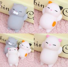 Home & Garden 1pcs New Mochi Squishy White Seal Healing Toy Kawaii Squeeze Abreact Fun Joke Gift Party Little Gifts For Children Party Favors Large Assortment Festive & Party Supplies
