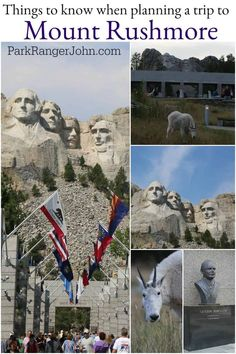 Planning a trip to Mount Rushmore in South Dakota? Check out these Mount Rushmore National Memorial Travel Tips for information on things to do, what to see South Dakota Vacation, South Dakota Travel, Travel Usa, Travel Tips, Hiking Sleeping Bags, Midwest Vacations, Yellowstone Vacation, Us Travel Destinations, Us National Parks