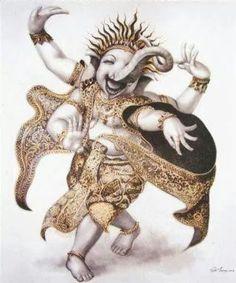 Dancing Ganesha :)