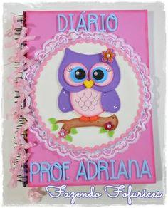 Fazendo Fofurices : Caderno decorado