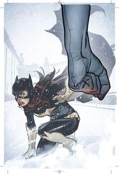 BATGIRL Cover 5 by *AdamHughes on deviantART #Art #ComicsArt #BatGirl