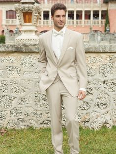 khaki suits and navy ties groomsmen - Google Search | The Groomsmen ...