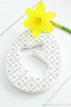 DEKO-IDEE   Klassische Oster-Dekoration mit Gelb*