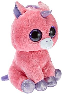 Amazon.com  Ty Beanie Boos Magic Unicorn Plush e6e575d21d9b
