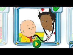 Caillou geht zum Arzt - Arztspiel App für Kinder iPad & iPhone