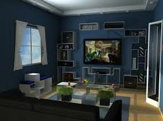 furniture blue bedroom interior designs ideas interior contemporary blue living room design ideas with wooden floors and tv wall mounted trends decorate